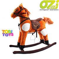 Лошадка-качалка K05 марки Tobi Toys