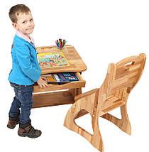 Комплект ученический парта +стул (60 см) TM Mobler, фото 3