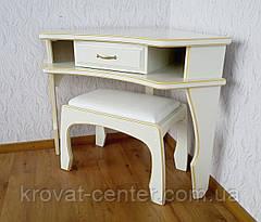 """Белый угловой столик """"Дарина"""", фото 3"""
