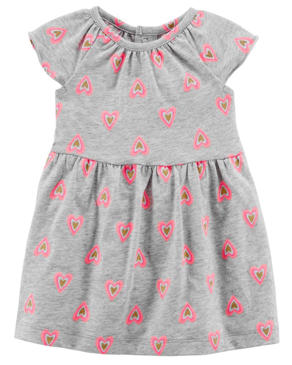 Летнее платье + трусики Carters для девочки 12 мес 72-78 см. Комплект 2-ка