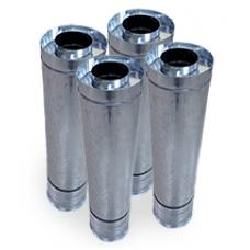 Прайс трубы дымоходные утепленные. (нержавеющая 430 сталь в оцинкованной стали)