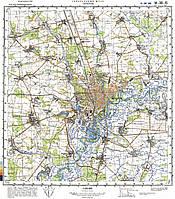 Карта Генштаба Украины в навигатор