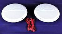 Пара морських акустичних динаміків 120Вт білих, фото 1