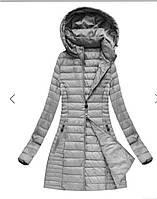 Куртка женская демисезонная длинная 2018