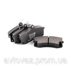 Колодка тормозная передняя ВАЗ 2110, 2111, 2112, Калина, Приора (AURORA)
