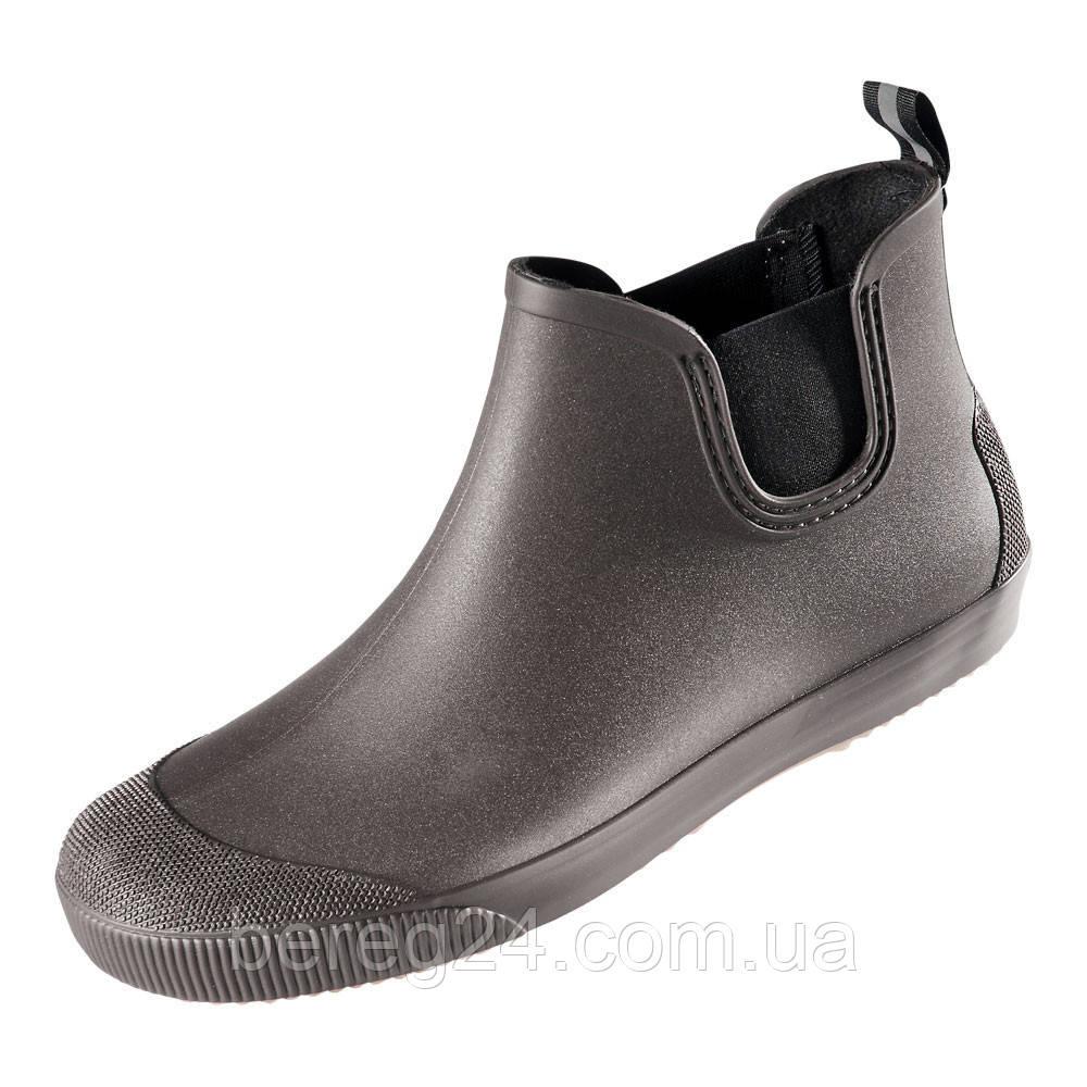 Мужские ботинки резиновые NordMan BEAT коричневые с черной подошвой размер 44