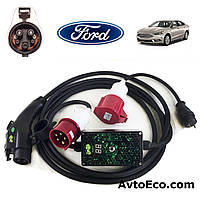 Зарядное устройство для электромобиля Ford Fusion Energi AutoEco J1772-32A-BOX, фото 1