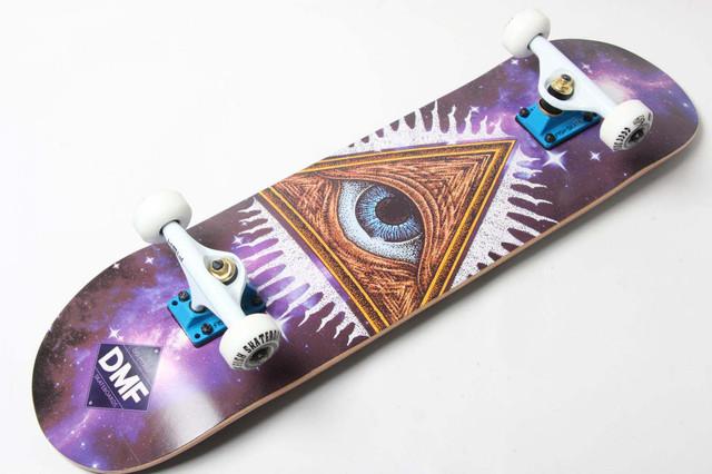 Скейт деревянный от Fish Skateboard скейтборд Масон Канадский клен