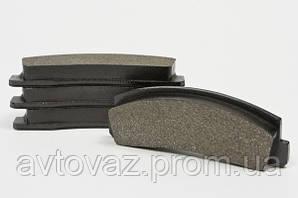 Колодка тормозная передняя ВАЗ 2121, 21213, 21214, 2123 Нива Шевроле к-кт AURORA