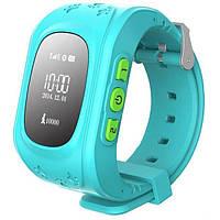 Умные смарт часы для детей Q50  1 sim,с GPS трекером,кнопка SOS.