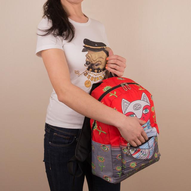 городской рюкзак с котиками
