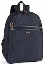 """Синий рюкзак с отделением для ноутбука 15"""" Kipling DEEDA N/Spark Navy K10041_Y17, 19л"""