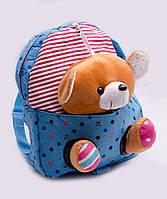 Рюкзак дитячий з іграшкою