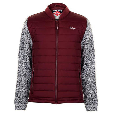 Куртка Lee Cooper Knitted Bomber Jacket Mens, фото 2
