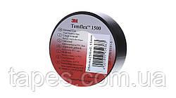Изолента пвх  3М Temflex 1500 (19мм x 20м х 0,15мм), черный цвет