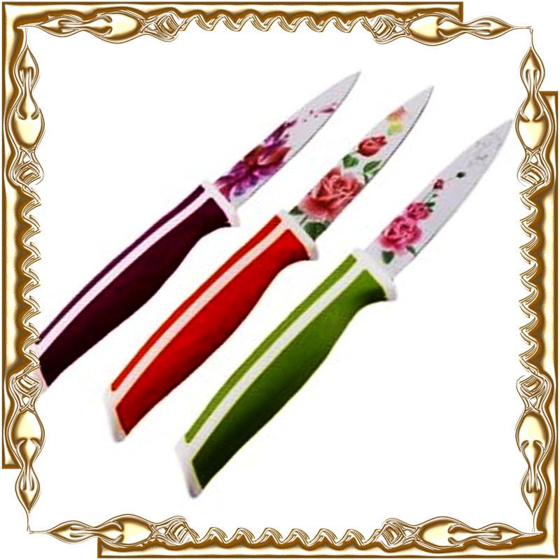 Нож для чистки овощей и фруктов в чехле. 24 шт./уп.