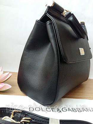 Люкс-реплика сумка Dolce&Gabbana, макси, фото 3