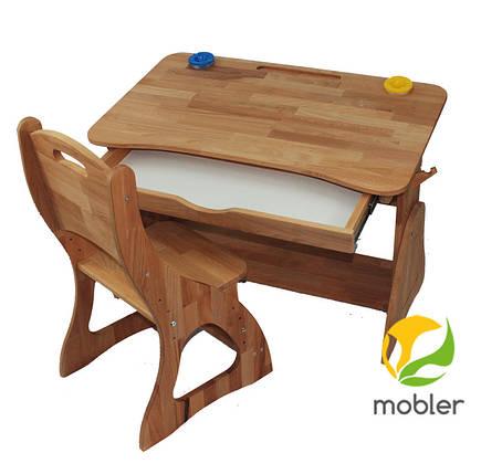 Парта растишка с ящиком (90 см) TM Mobler, фото 2