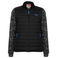 Куртка Lee Cooper Knitted Bomber Jacket Mens