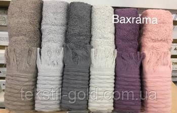 Упаковка 50х90 (6шт) Полотенце махровое Baxrama (Турция)