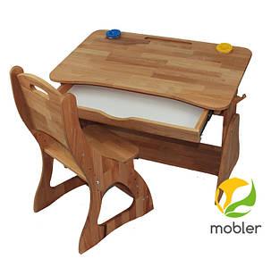 Комплект ученический парта +стул (90 см) TM Mobler