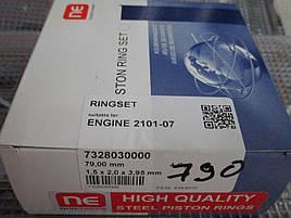 Кольца поршневые (наборные) ваз  NPR(sm) 79.0