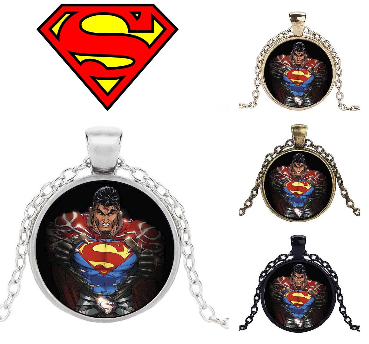 Кулон с изображением Супермена Superman DC комиксы