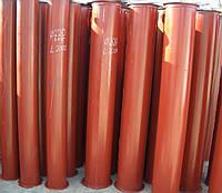 Зернопровод (самотек) для элеваторов. Диаметр трубы,200 220, 300, 450 мм.