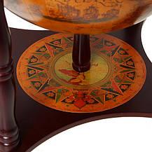 Глобус бар настольный Старая Эра 33006 R1, фото 2