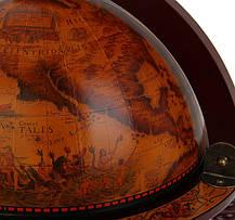 Глобус бар настольный Старая Эра 33006 R1, фото 3