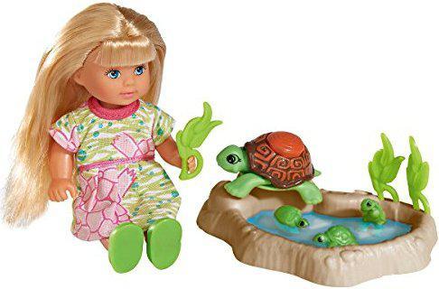 Кукла Эви с семьей черепашек и аксессуарами Simba 5732505
