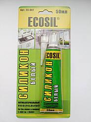 ECOSIL силикон универсальный,белый 50мл
