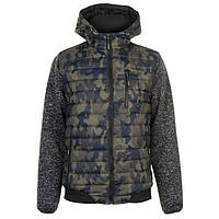 Куртка Lee Cooper Padded Camo Jacket Mens