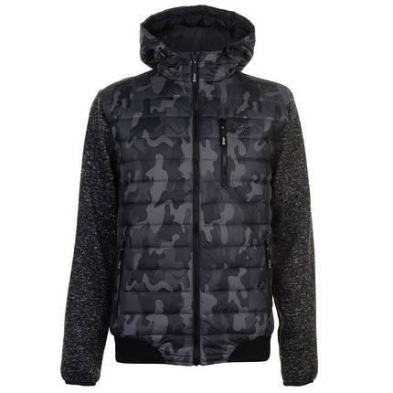 Куртка Lee Cooper Padded Camo Jacket Mens, фото 2