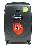 Объемный дорожный каркасный чемодан с прочного облегченного пластика WINGS  art. 310 №2 зеленый (102678), фото 1