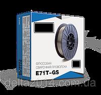 Сварочная проволока флюсовая самозащитная диаметр 0,8мм E71T-GS (катушка 1 кг)