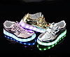 Детские светящиеся LED кроссовки 25-33 рр! (3 разных цвета)