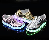 Детские светящиеся LED кроссовки 25-33 рр! (3 разных цвета), фото 1