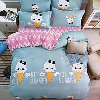 Комплект постельного белья Hot summer (двуспальный-евро)