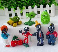 Игрушки Растения против зомби Набор с 8 фигурок Plants vs zombies