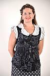 Блуза из тонкого батиста хлопок приталенная Бл 045, фото 2