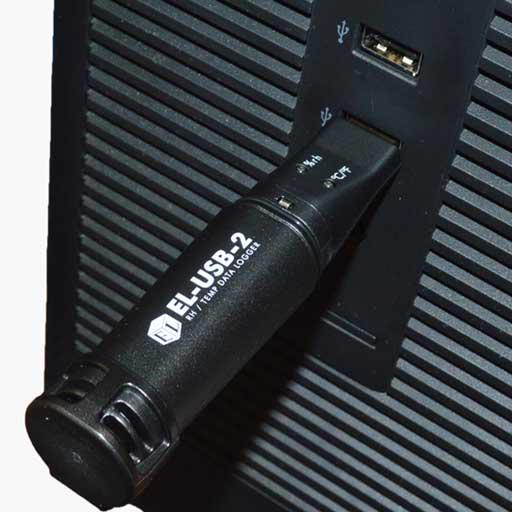 Регистратор температуры автономный, термологгер, Lascar EL-USB-1