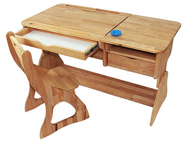 Комплект ученический LUX парта +стул (90 см) TM Mobler