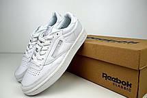 Кроссовки женские Reebok Workout (белые) Top replic, фото 2