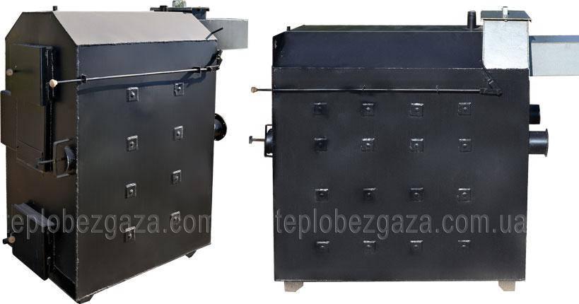 Котел пиролизный Екот 180 кВт площадь отопления до 2000 кв м, фото 2