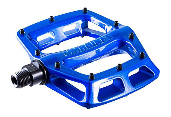 Педали DMR V8 v.2, синий металлик