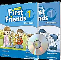 First Friends 2th edition 1, Class book + Actitvity book | учебник + тетрадь (комплект с диском) английского языка