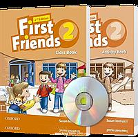 First Friends 2th edition 2, Class book + Actitvity book | учебник + тетрадь (комплект с диском) английского языка