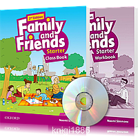 Family and Friends 2th edition Starter, Class book + Workbook | учебник + тетрадь (комплект с диском) английского языка