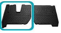Резиновый водительский коврик для Iveco Stralis II 2007-2012 (STINGRAY)